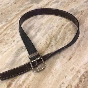 Other - Boys leather belt. Black.  Size large